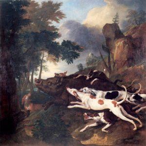 Chasse au sanglier, Alexandre-François Desportes