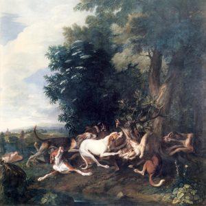 Chasse au cerf, Alexandre-François Desportes
