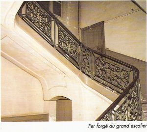 Folie desmares - Grand escalier