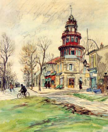 Eugène Véder – Peintre aquafortiste