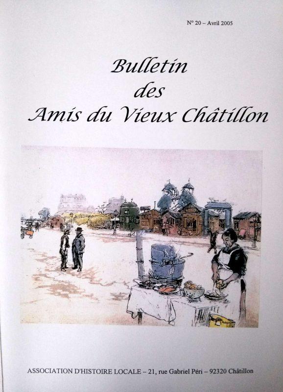 Brochures éditée par les Amis du Vieux Châtillon