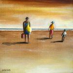 Jean-Claude Blanchard-A la plage