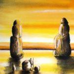 Jean-Claude Blanchard-Colosses de Memnon inondés