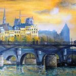 Jean-Claude Blanchard-La passerelle des Arts