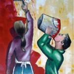 Jean-Claude Blanchard-Peinture fraîche
