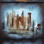 Jean-Claude Blanchard-Triptyque Manhattan