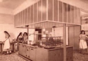 Refuge Sainte-Anne - La cuisine