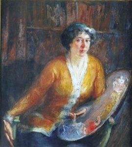 Suzanne Frémont peintre à Châtillon