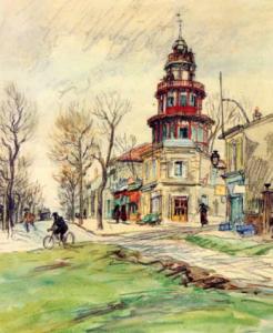 La tour Biret par Eugène Véder