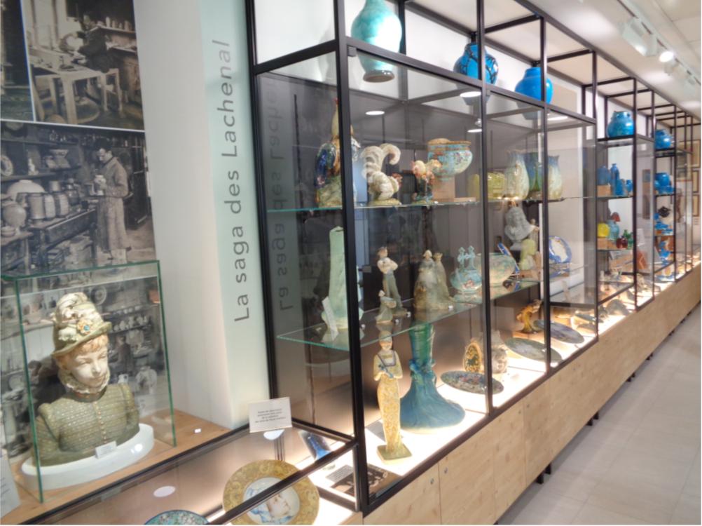 La section céramiques de la Maison du Patrimoine