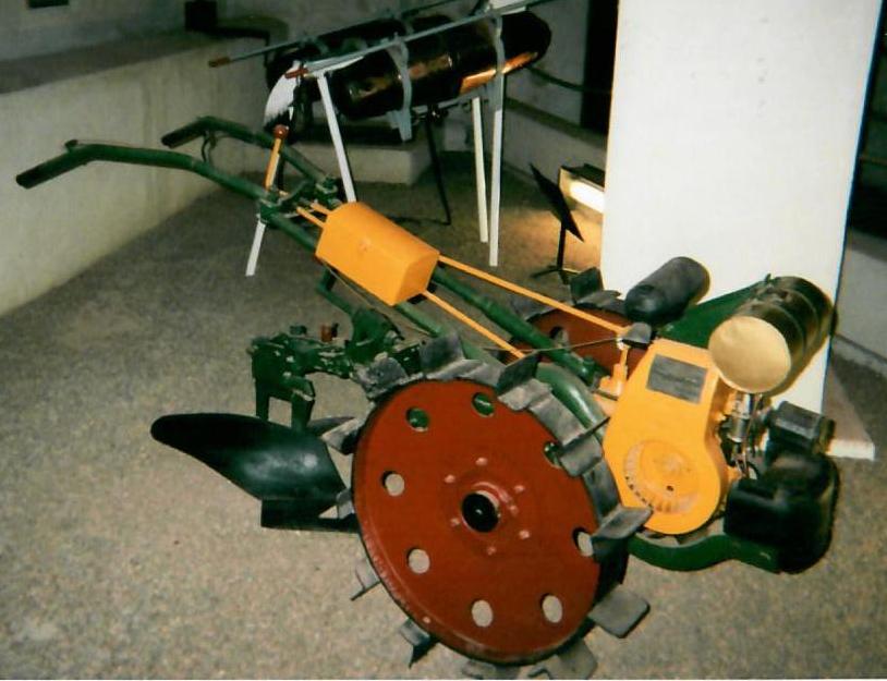 Un tracteur Labor