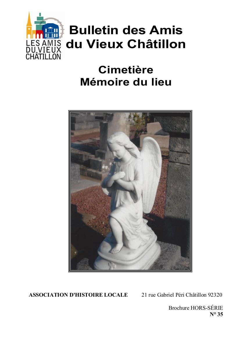 CIMETIERE MEMOIRE DES LIEUX