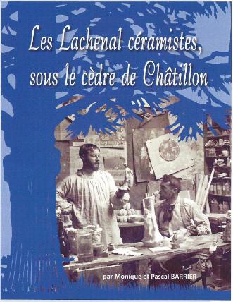 Les Lachenal céramistes, sous le cèdre de Châtillon
