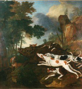 Scène de Chasse de Desportes (1705)